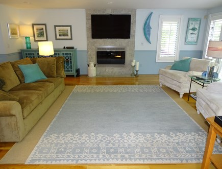 Mashpee Cape Cod vacation rental - Living room - all new decor