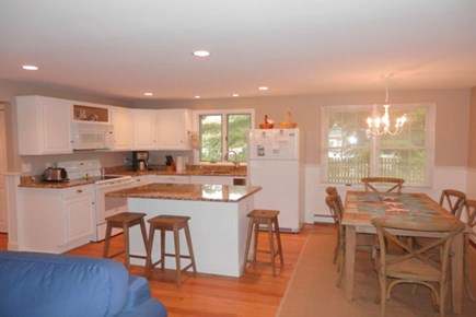 Brewster Cape Cod vacation rental - Looking into kitchen/dining area