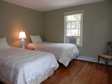 Brewster Cape Cod vacation rental - 2nd bedroom with 2 twins & A/C unit
