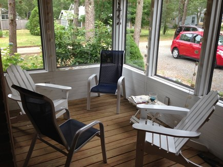 Brewster Cape Cod vacation rental - Screened Porch Area