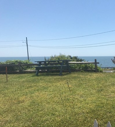 Dennisport Cape Cod vacation rental - View of ocean from front yard