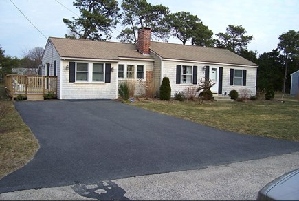West Yarmouth Cape Cod vacation rental - Front of the house Spring time!!!!!