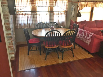 West Yarmouth Cape Cod vacation rental - Dining table Seats 6