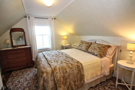 North Truro Cape Cod vacation rental - Second floor bedroom with queen and ductless split unit A/C.