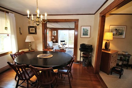 North Truro Cape Cod vacation rental - Separate dining room with plenty of seating.