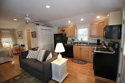 North Truro Cape Cod vacation rental - Studio over garage has full kitchen, portable A/C, sat TV & view.