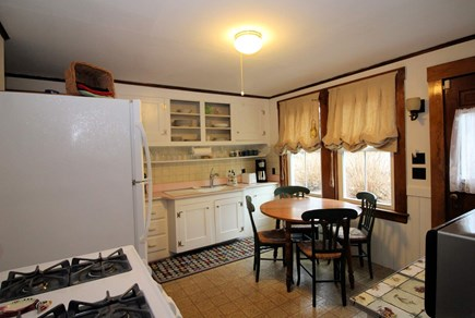 North Truro Cape Cod vacation rental - Eat-in country kitchen.