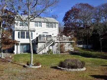 Yarmouth Cape Cod vacation rental - Back of house with great deck for relaxing and dining
