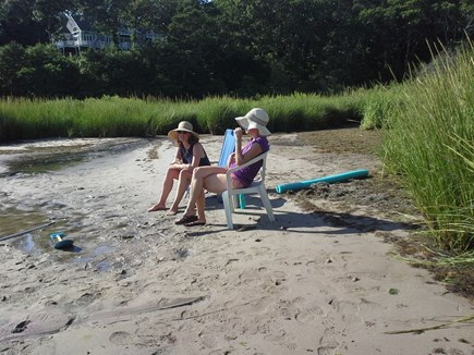 Yarmouth Cape Cod vacation rental - Enjoying the waterfront