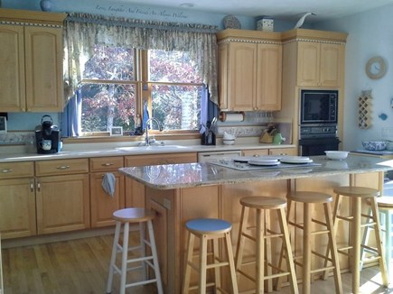 Yarmouth Cape Cod vacation rental - Kitchen with island