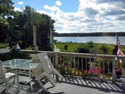 Yarmouth Cape Cod vacation rental - Sundeck, table and gas grill