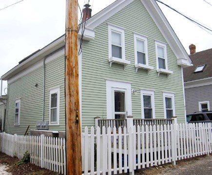 Provincetown Cape Cod vacation rental - Front of house from street; our condo is the entire first floor.