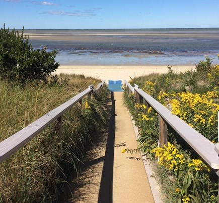 Brewster Cape Cod vacation rental - Just 2/10 mile to this beautiful private bayside beach!