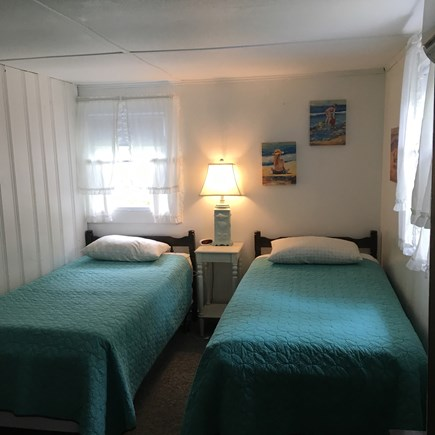 Brewster Cape Cod vacation rental - Bedroom with two twin beds