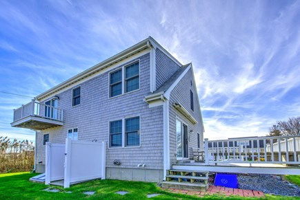Sandwich Cape Cod vacation rental - Back view of house.