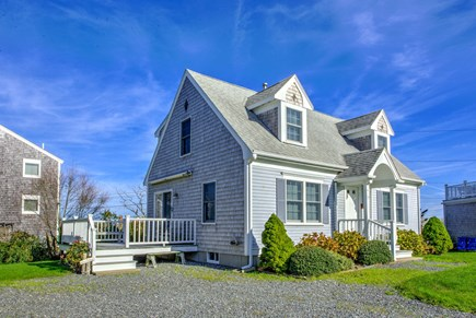 Sandwich Cape Cod vacation rental - Front view of the home.
