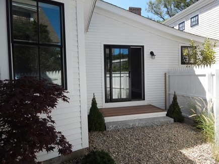 Provincetown Cape Cod vacation rental - Master Patio