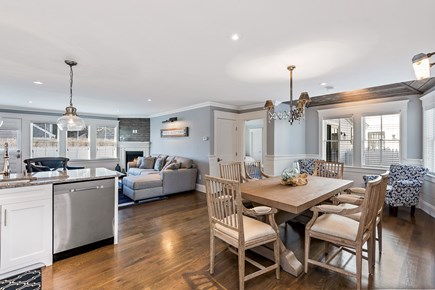 Provincetown Cape Cod vacation rental - Kitchen, Dining, Living