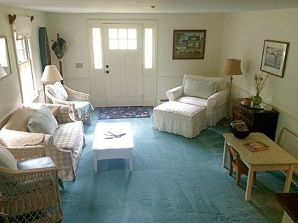 East Dennis Cape Cod vacation rental - Main floor entry with carpeted play space, games and kid's table