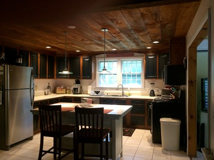 East Dennis Cape Cod vacation rental - Kitchen and island
