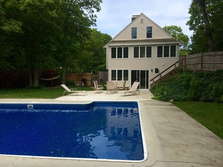 East Dennis Cape Cod vacation rental - Large saltwater pool in your backyard