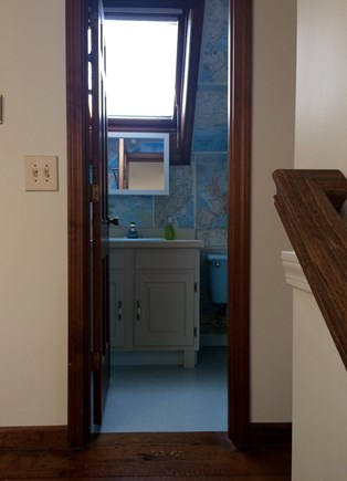 East Dennis Cape Cod vacation rental - Upstairs bathroom with shower (shared by 2 bedrooms)