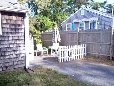Dennisport Cape Cod vacation rental - Outdoor Seating Area