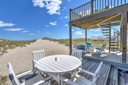 East Sandwich Cape Cod vacation rental - Main level deck