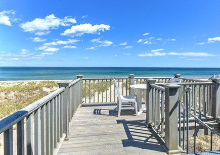 East Sandwich Cape Cod vacation rental - Views from upper level deck