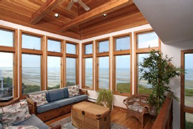 Eastham Cape Cod vacation rental - Tower room at low tide