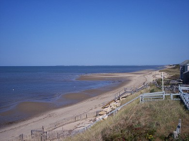Eastham Cape Cod vacation rental - Viewing north to Wellfleet, Lieutenant Island, & Provincetown