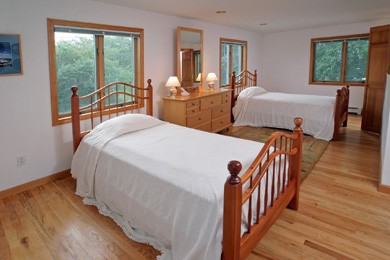 Eastham Cape Cod vacation rental - Twin bedroom on main  level