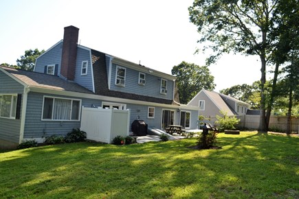 Osterville Osterville vacation rental - Flat rear yard with patio & outdoor shower