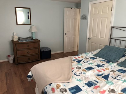 West Dennis Cape Cod vacation rental - Bedroom 2 spacious room with a queen bed and 3 drawer dresser