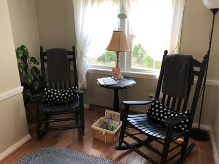 West Dennis Cape Cod vacation rental - Sunny sitting room to read & relax