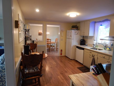 West Dennis Cape Cod vacation rental - Bright, eat-in kitchen - dishwasher, electric stove, Keurig