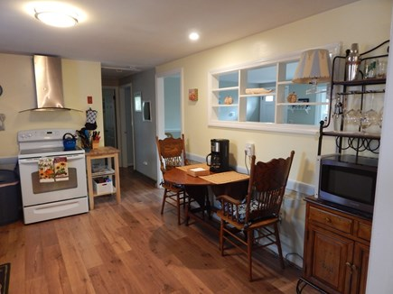West Dennis Cape Cod vacation rental - View from dining area leading to living room & bedrooms