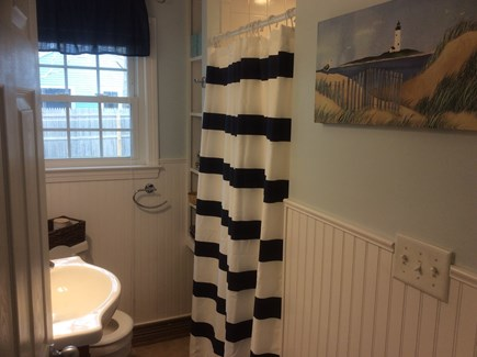 West Dennis Cape Cod vacation rental - Full Bath with stall shower