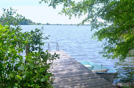 Falmouth, Woods Hole Cape Cod vacation rental - Oyster Pond -- great swimming, boating, kayaking