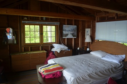 Falmouth, Woods Hole Cape Cod vacation rental - Master bedroom BEFORE renovations. New photos soon (spectacular)