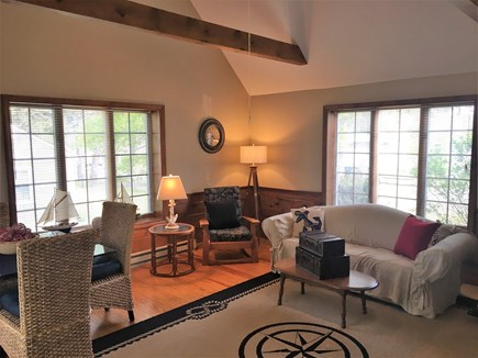 Yarmouth, Bass River Cape Cod vacation rental - Living room and dining area