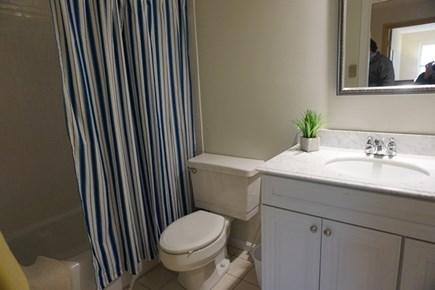 Falmouth Cape Cod vacation rental - Bathroom with tub