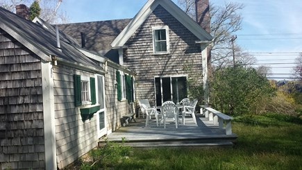 West Barnstable Cape Cod vacation rental - Marshview Farm with Deck off kitchen and living room