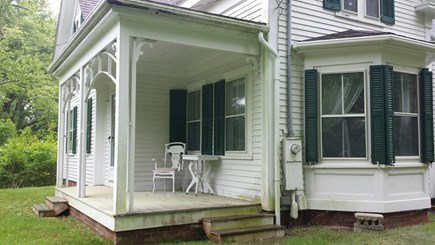 West Barnstable Cape Cod vacation rental - Front Porch and Bay Window