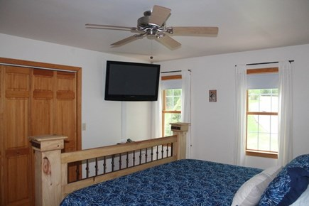 Eastham Cape Cod vacation rental - TV in Master Bedroom