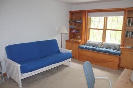 Eastham Cape Cod vacation rental - Loft area with desk and futon