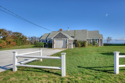 East Sandwich Cape Cod vacation rental - Private setting on a bluff overlooking Cape Cod Bay.
