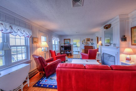 East Sandwich Cape Cod vacation rental - Plenty of seating the Living Room