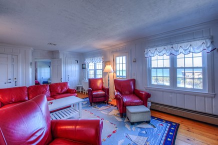East Sandwich Cape Cod vacation rental - Living Room with oceanviews.