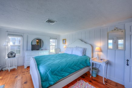 East Sandwich Cape Cod vacation rental - Master Bedroom with Queen and oceanviews.